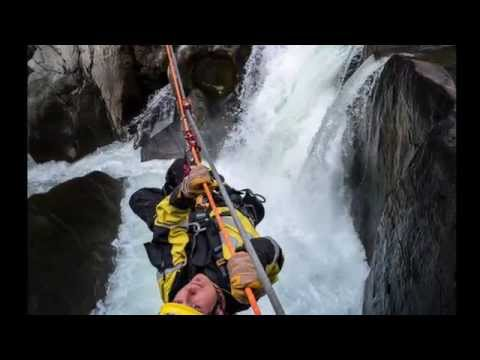 Waterfall jump, white water kayaking- Protec Rope Access