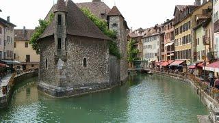видео Французский город Анси, Анси во Франции