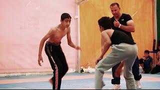 Jordan: the wrestling champ of Za'atari camp