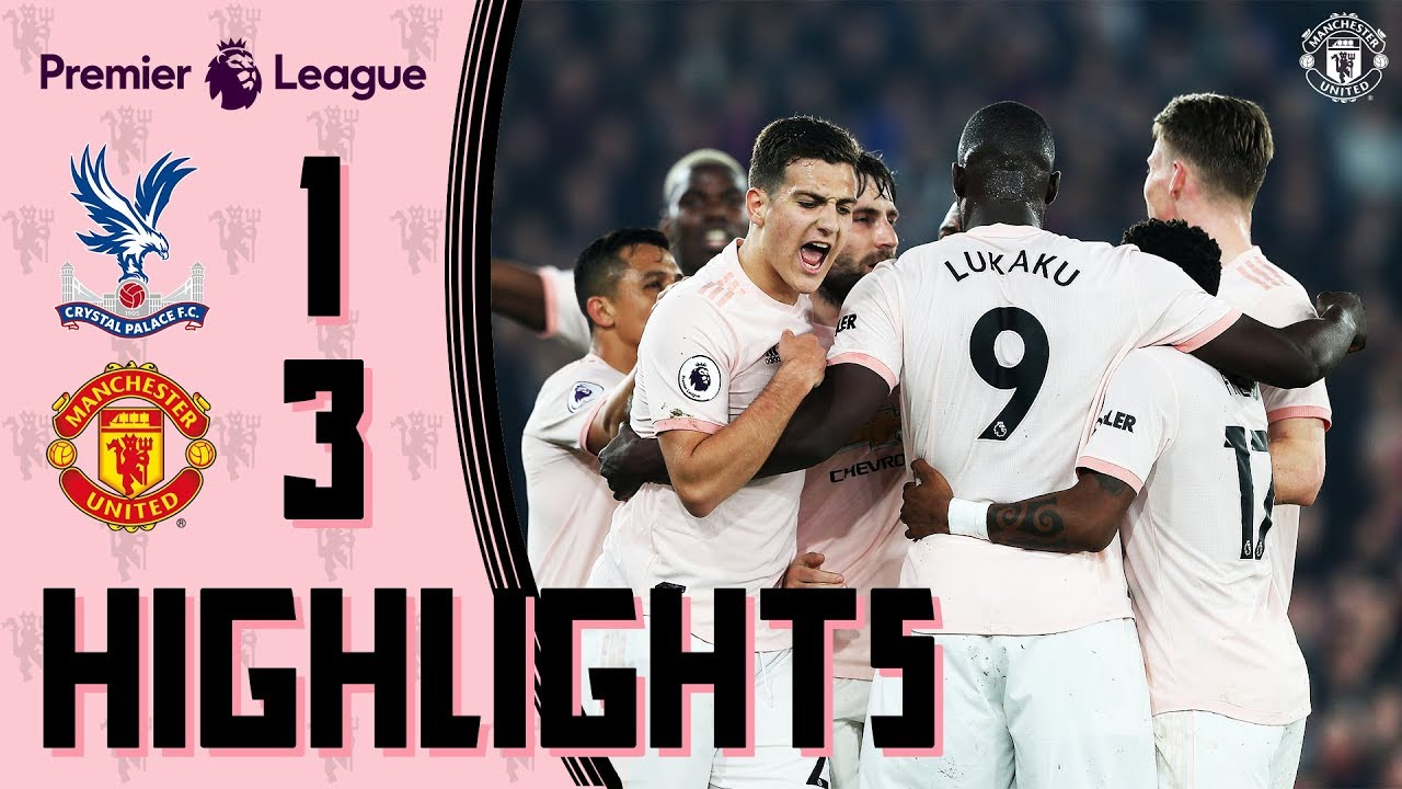 Highlights | C. Palace 1-3 Manchester United | Lukaku & Young fire Reds to record-breaking away