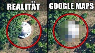 Google versteckt diese Orte und niemand weiß, warum!