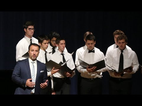 """Panis Angelicus,"" Luciano Lamonarca & the Thomas Aquinas College Choir"
