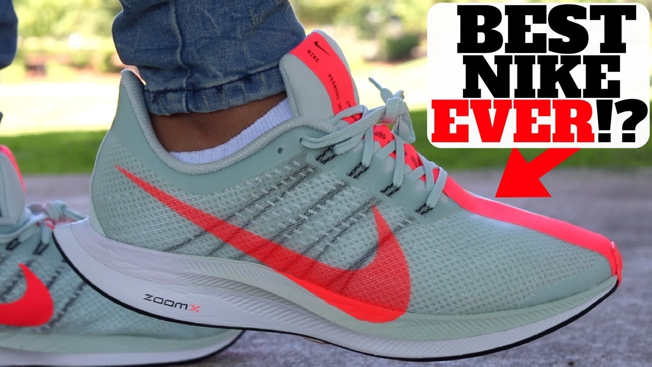 best sneakers 19288 10ffb BEST NIKE EVER!? ZOOMX PEGASUS 35 TURBO REVIEW!