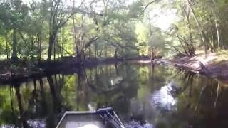 Spin Fishing the Canoochee River  GA