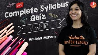 Chemistry LIVE MCQ QUIZ - 1   COMPLETE Syllabus   CBSE Class 10 Science NCERT @Vedantu Class 9 & 10