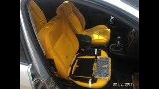 Ford Mondeo 3 2.0 TDCI. Снятие обшивки сидений (результат после стирки).