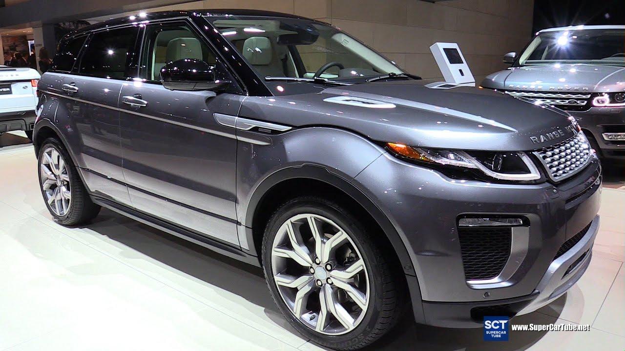 2016 Range Rover Evoque Autobiography Exterior and Interior