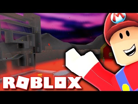 SUPER MARIO LAVA WORLD IN ROBLOX