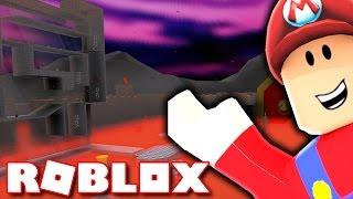 SUPER MARIO LAVA WORLD IN ROBLOX!!