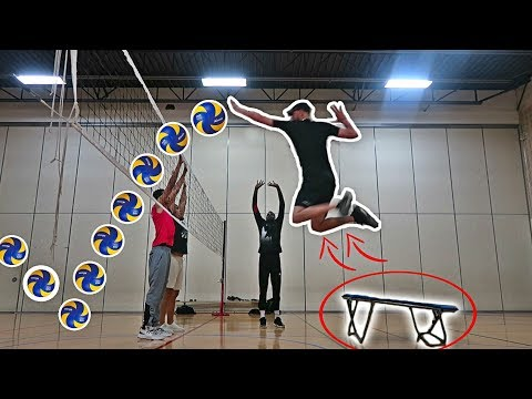 EXTREME VOLLEYBALL TRICK SHOTS!