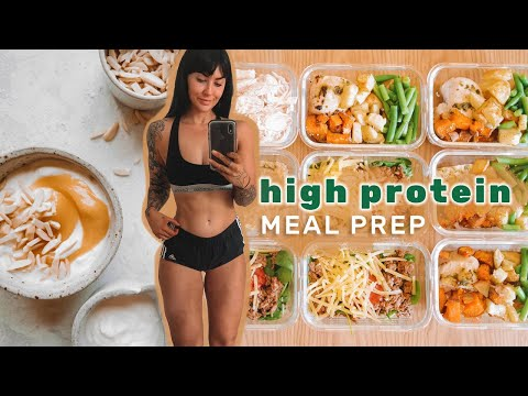 MEAL PREP Simple & Fast HIGH PROTEIN meals for fat loss