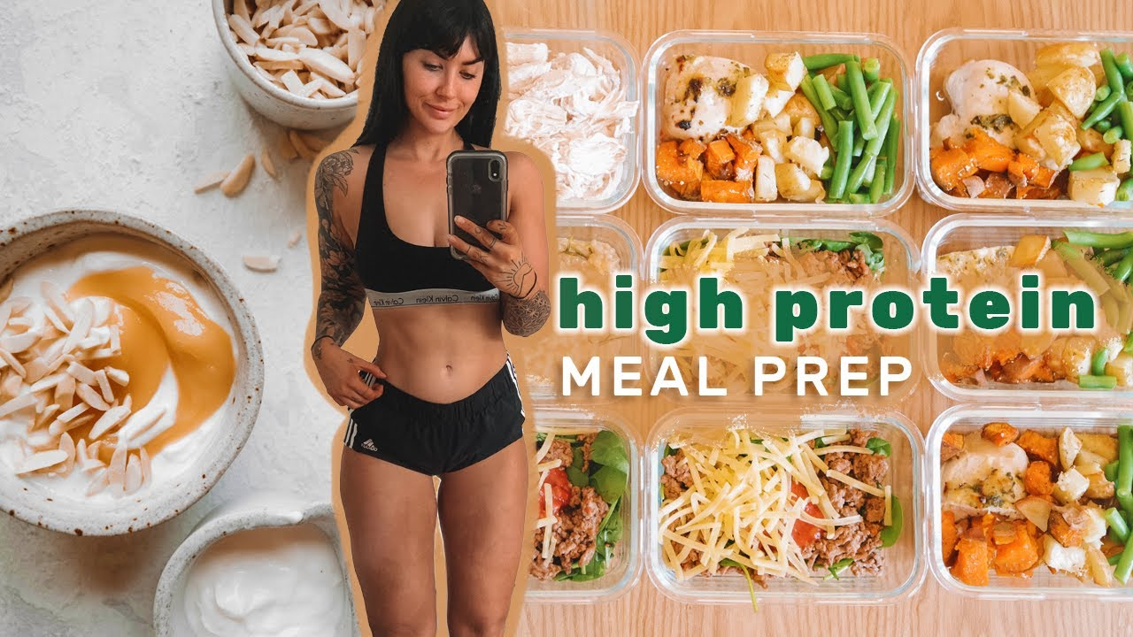 <div>MEAL PREP – Simple & Fast HIGH PROTEIN meals for fat loss</div>