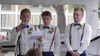 Best Man Brother's Speech [Matt + Hanna Wedding]