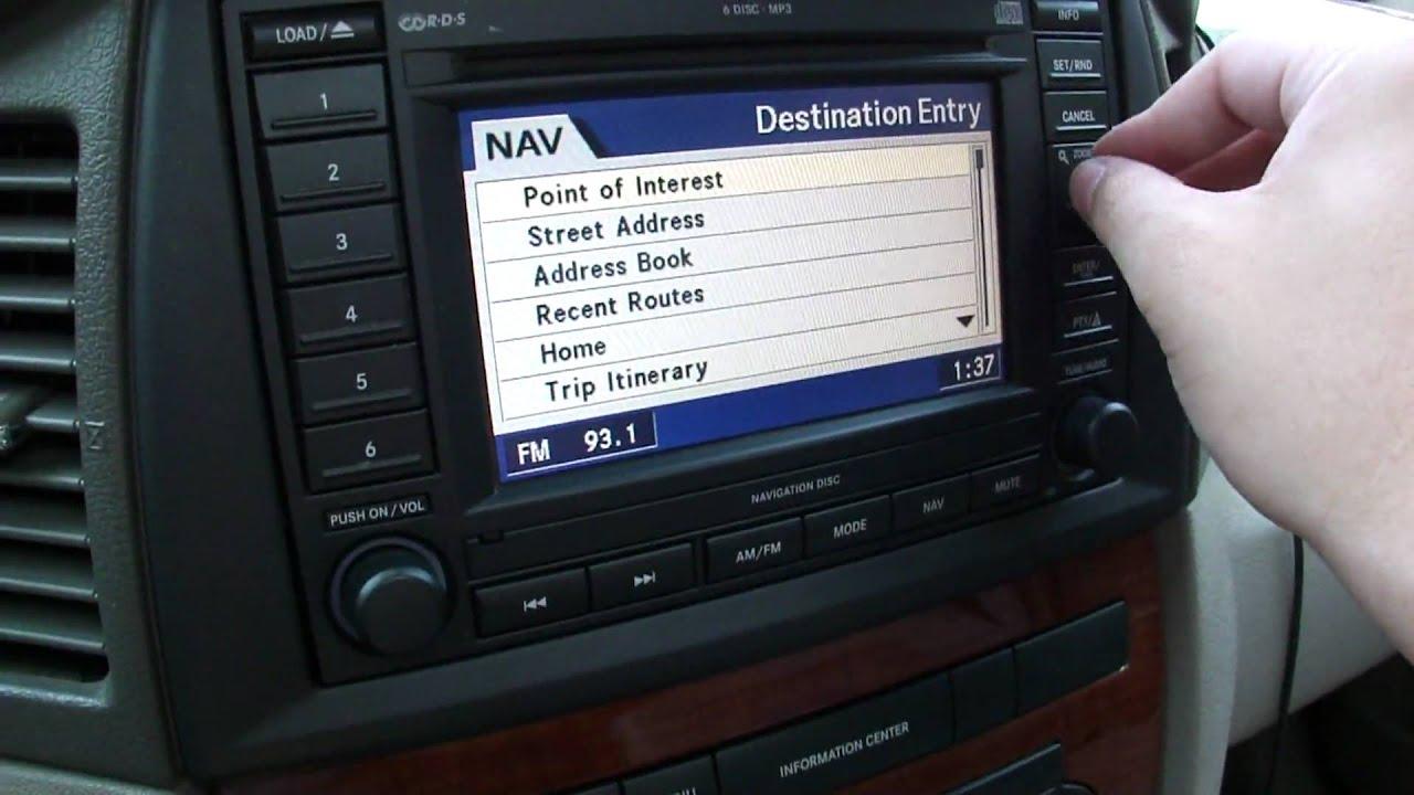 2005 Grand Cherokee GPS - YouTube