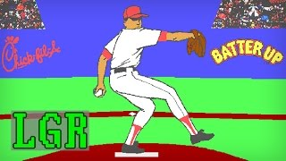 LGR - Batter Up! - First PC Baseball Game I Played