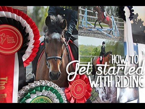 How To Get Started In Riding!