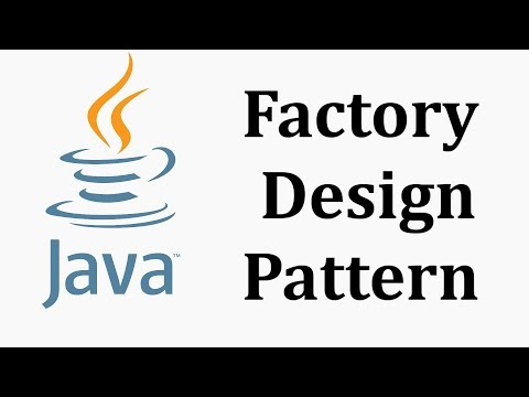 Factory Design Pattern in Java Theory