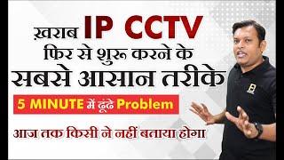 How To Solve IP CCTV Camera Pr…