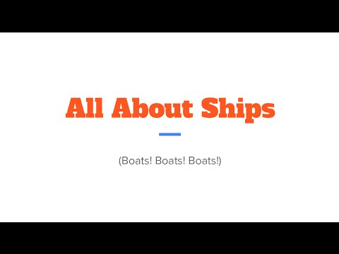 All About Ships - PowerPoint Karaoke 2015