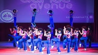 "Школы эстрадного танца ""DanceAvenue"" - Disco - Отчетный концерт ""Нам 5 лет"" УлГПУ, 2016г"