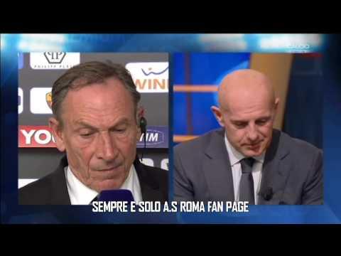 Intervista Zeman | Post Roma-Fiorentina 4-2 | 8 Dicembre 2012