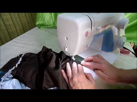DIY: Nähmaschinen  Gebrauchsanweisung & 1. Naht nähen-NÄH-SCHULE KINDERLEICHT