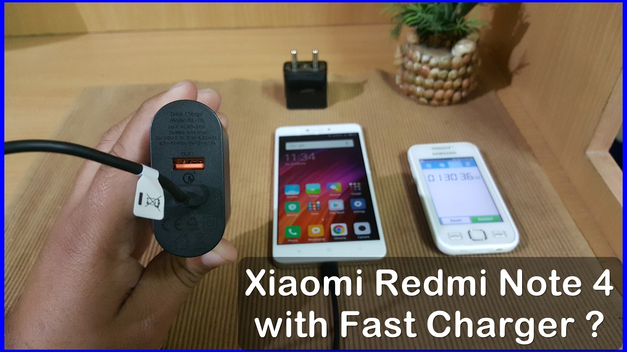 Xiaomi Redmi Note 4 Charging Speed Test With Fast Charger Expected 3 Mi 4i Original 100