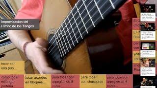 Tocar Tango en Guitarra (tutorial) - por Jesús Amaya...