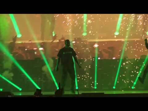 Drake & Giggs - Whippin Excursion @ The O2 Arena London - 30th January 2017