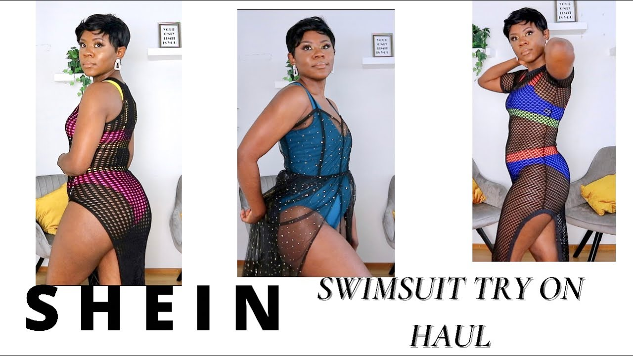 SHEIN SWIMSUIT TRY ON HAUL