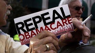 США: сенаторы против Obamacare(Сенат Конгресса США принял постановление о начале процедуры отмены программы обязательного медицинского..., 2017-01-12T10:57:46.000Z)