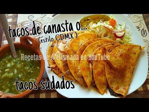 """TACOS DE CANASTA O SUDADOS, VIDEO TIP PARA VENTA """"MI VENTA"""" Recetas de Aliamada"""