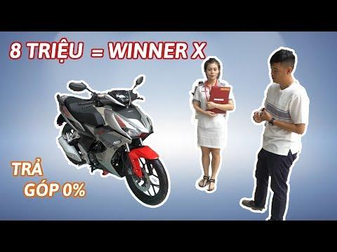 Winner X - Đi SH, mua trả góp Honda Winner X lãi suất 0% CỰC HẤP DẪN