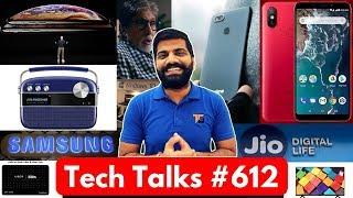Tech Talks #612 - Realme 2 Pro 660, OnePlus 6T, Google Home Hub, Mi A2 Red, iPhone Xs Battery