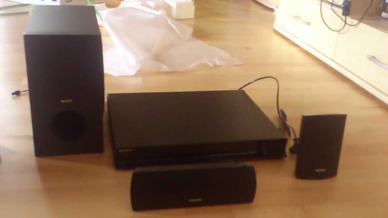 Sony home theater model dav-dz640