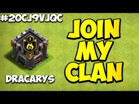 JOIN MY NEW CLAN!!! | Clash of Clans