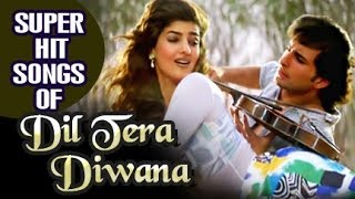 Dil Tera Deewana (1996) HIndi Movie | All Songs Collection | Saif Ali Khan, Twinkle Khanna