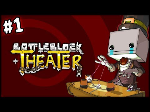 Фрост - Борцуха и Котики - BattleBlock Theater - №7