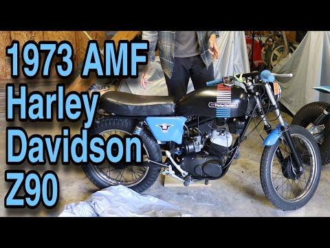 Slippers' Toys - 1973 AMF Harley Davidson Z90 Motorcycle (Custom Restoration)