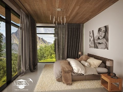 3Ds Max Vray Modern Bedroom Modelling - Part 01