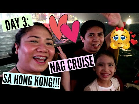 DAY 3: NAG CRUISE SA HONG KONG!!! - MichelleFamilyDiary