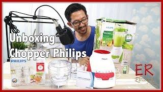 UNBOXING PHILIPS CHOPPER HR 2115