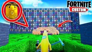 Fortnite ESCAPE Adventures in WONDERLAND.. Will we FIND the SECRET ROOMS?! (Fortnite Creative Mode)