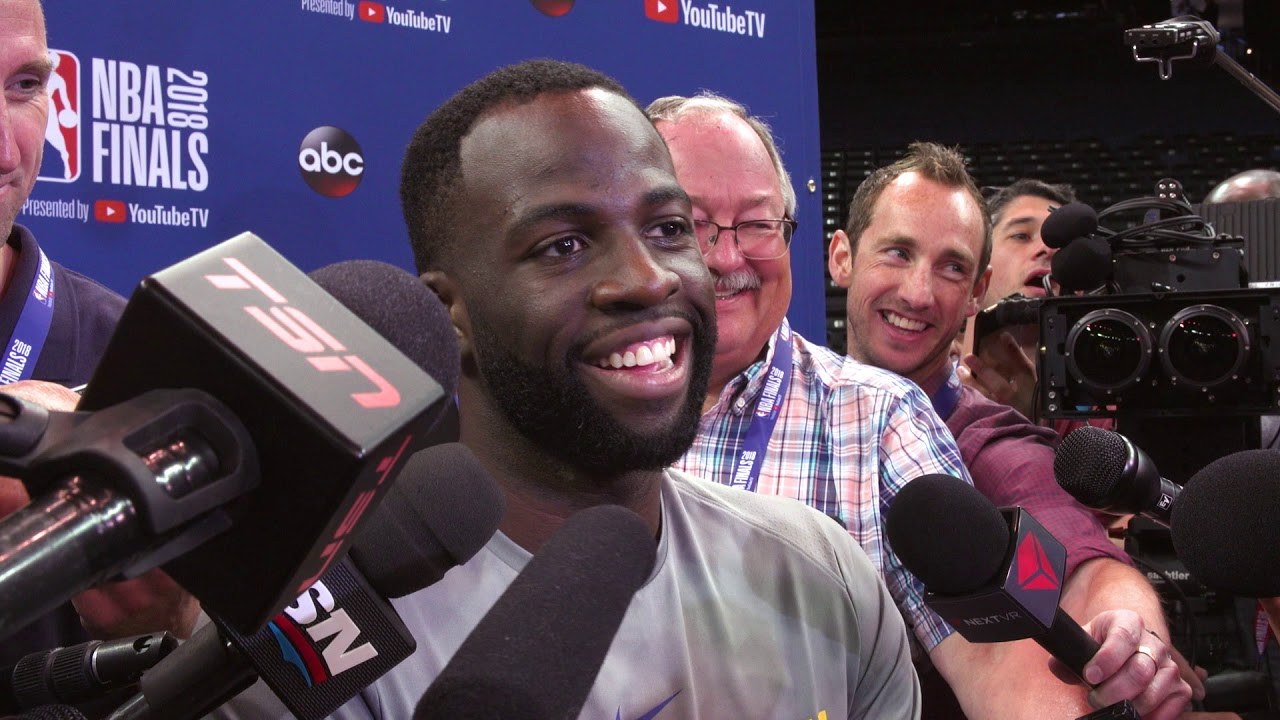 Warriors All-Access: Funny Press Conference Moments, NBA Finals Edition