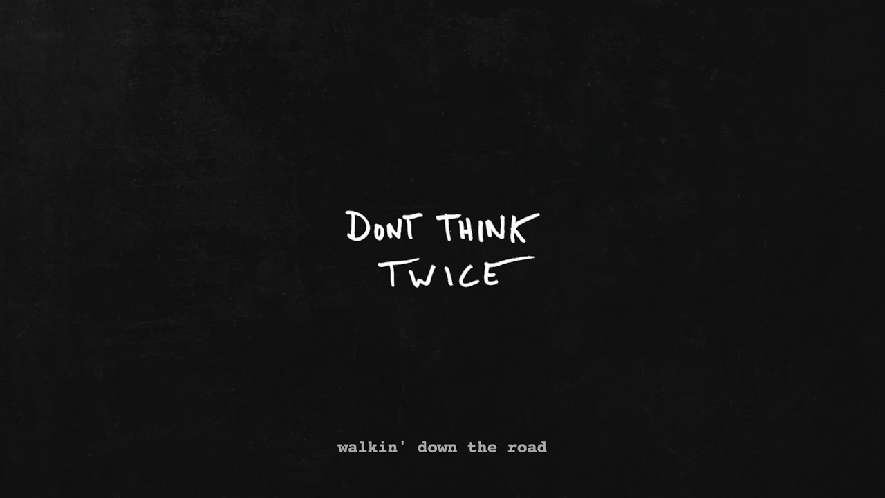 "G-Eazy ""Don't Think Twice"" (Bob Dylan Cover)"