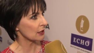 Enya   Interview on ECHO 2016  Berlin , 07 04 2016
