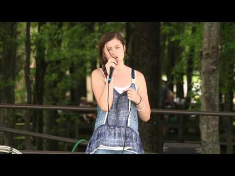 Karaoke at the 2015 Magnolia Festival in Gardendale Alabama