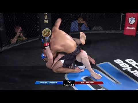 HRMMA 117 Fight 3 James Zahran vs KC Woods 170 Ammy