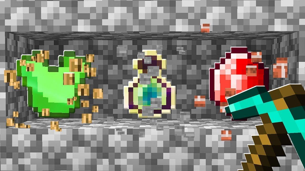 Playing MINECRAFT with Random Drops! (Minecraft Randomizer)