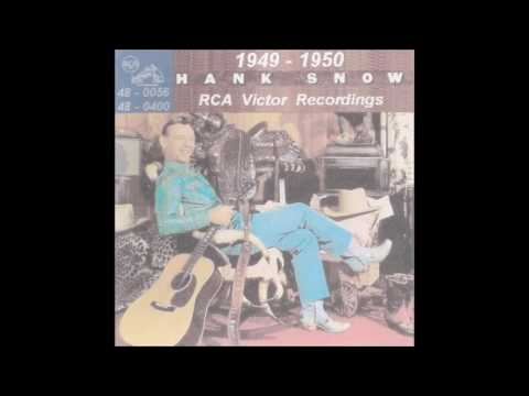 Hank Snow - RCA Victor 45 RPM Records - 1954 - 1956